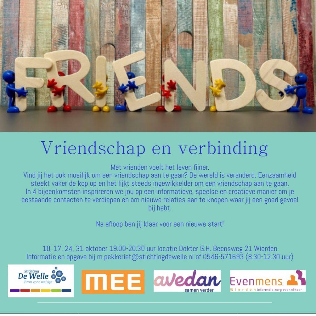 Workshop Vriendschap En Verbinding Hervormd Wierden